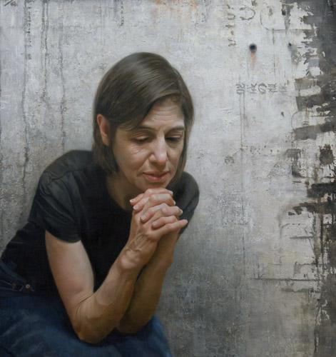 Dale (oil, 40x34) by David Jon Kassan