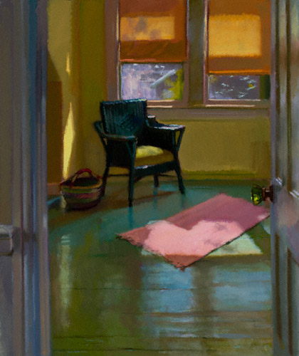 Nate's Room (oil, 24x20) by Lea Colie Wight