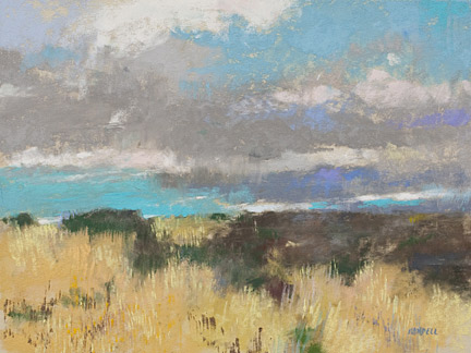 Albert Handell Using Pastel To Create Dramatic Skies