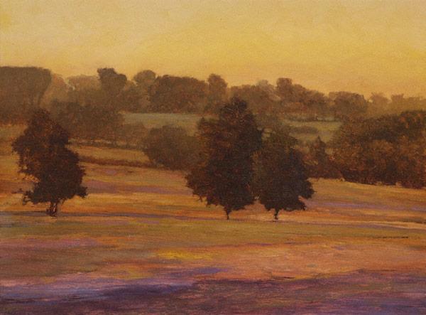 Lueur (oil, 11x14) by Kent Lovelace
