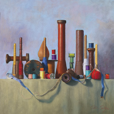 pastel still life painting by Peter Seltzer pastel artist
