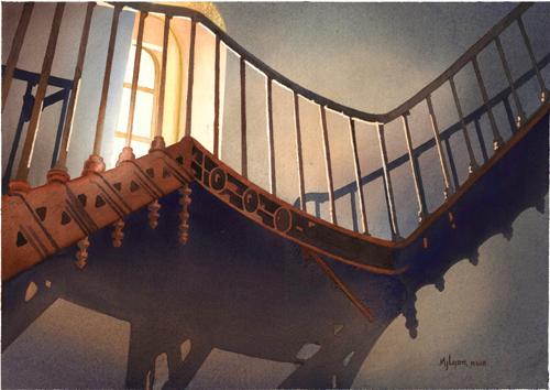Iron Steps by JudyLyon