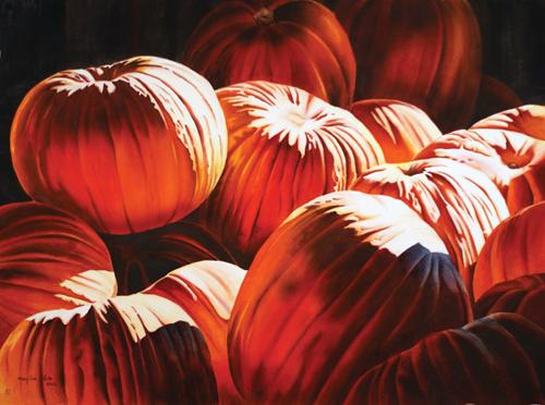 Autumn Harvest by Monika Pate