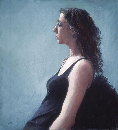 Claudia (24x22) by Diana De Santis