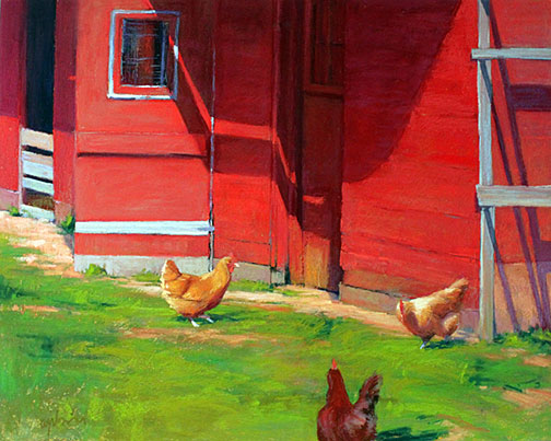 spring chickens by Suan Ogilvie
