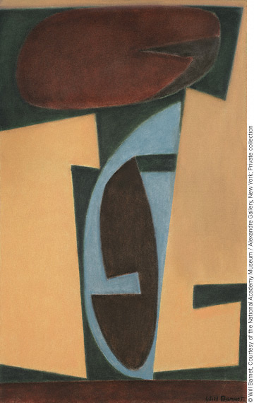 Ahab II (2005; oil, 40x24) by Will Barnet