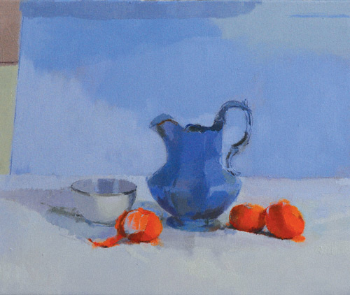 still life oil painting Ilaria Resselli Del Turco artist