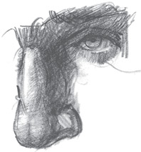 How to draw a nose | Paul Leveille, ArtistsNetwork.com