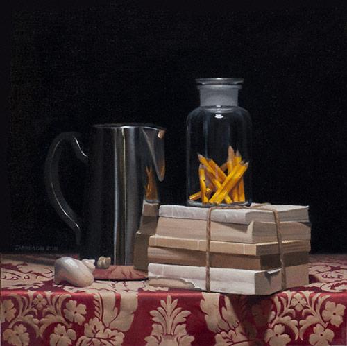 Jamieson Artist Profile Oil Painting Inspiration Photo