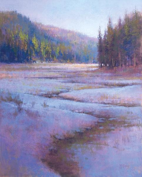 """""""Ochoco Evening"""", pastel, 20x16 by ricahrd mckinley"""