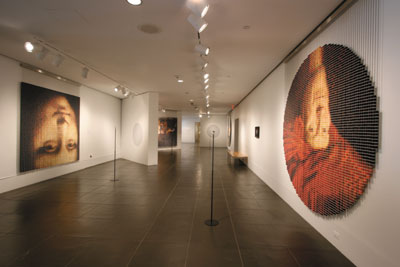 The Eye of the Artist: The Work of Devorah Sperber Brooklyn Museum mixed media art exhibition