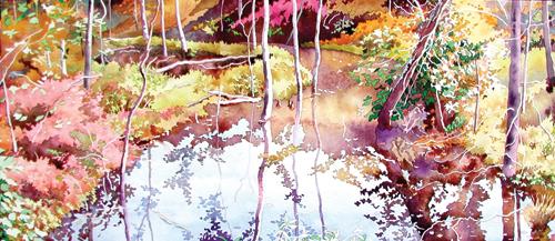 Swamp Flood | watercolor