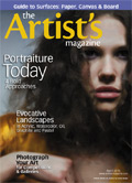 The Artist's Magazine, Casey Baugh painting, female portrait painting