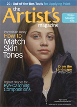 The Artist's Magazine, April 2012 issue, drawing, painting