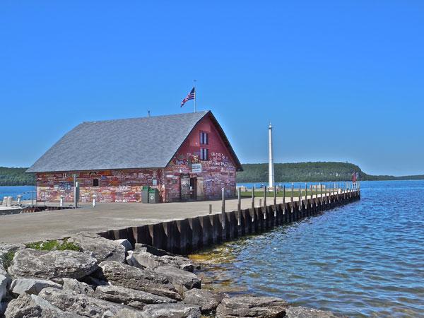 The Hardy Gallery, Ephraim, Wisconsin, restored barn, art gallery, Door County