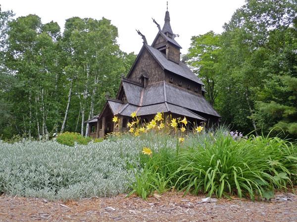 The Stavkrike, Washington Island, Door County Wisconsin | restored barn, art gallery