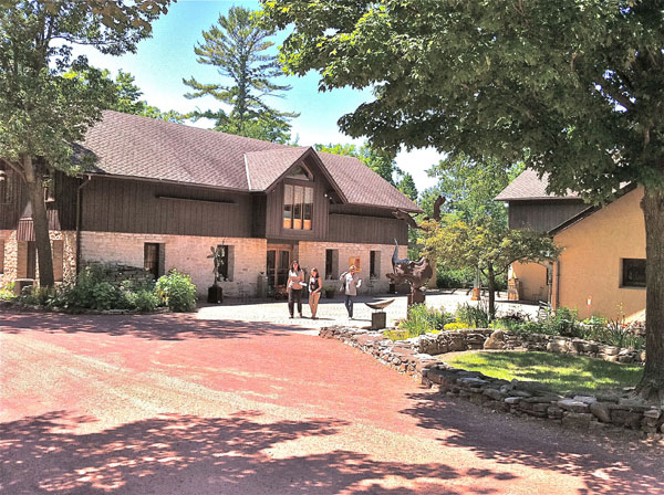 Edgewood Orchard Galleries, Fish Creek Wisonsin | restored barn, art gallery