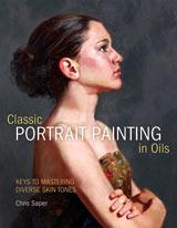 Classic Portrait Oil Painting by Chris Saper artist