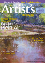 The Artist's Magazine plein air gear