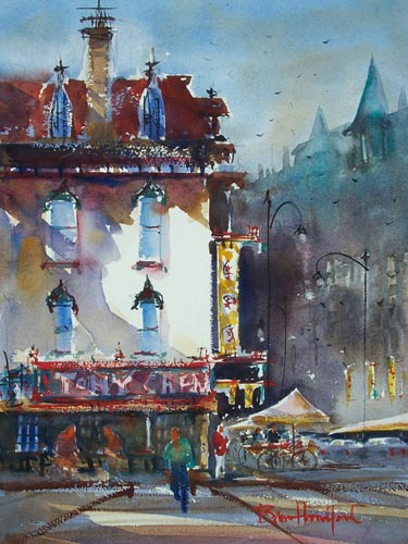 Tony Chens Restaurant | Watercolor