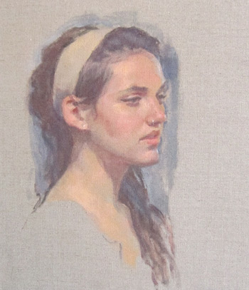 Flesh Tones In Portrait Painting With Artist Tom Root