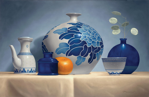 Art Tip File Painting From Back to Front Ted Polomis artist still life