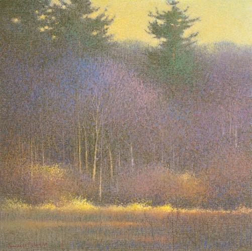 Toward Evening | pastel