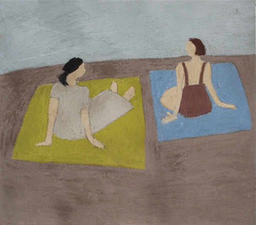Montauk Ladies | pastel
