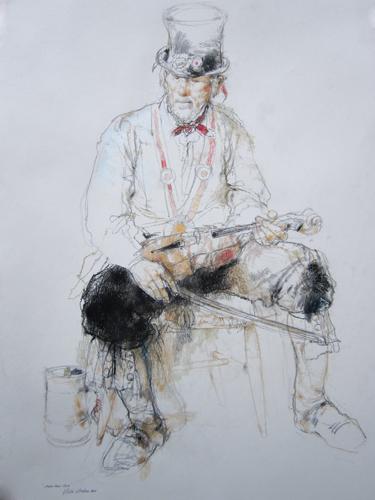 Morris Man | pastel