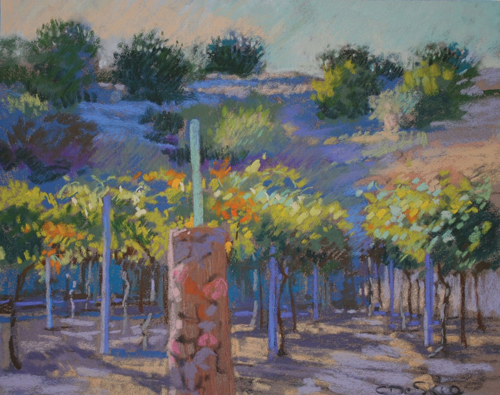 Oak Creek Vines | pastel