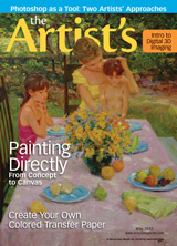 The Artist's Magazine, David Hettinger art