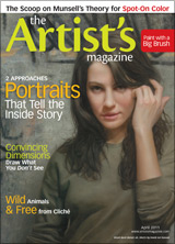 The Artist's Magazine, David Jon Kassan art