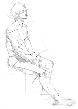 How to draw realistic people drawing the figure life drawing
