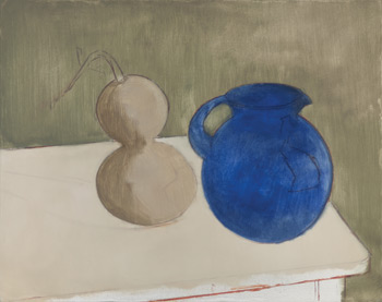 Blocking In | Still Life Painting by Sheldon Tapley