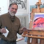 Acrylics: A Watercolor Approach: Stephen Quiller Paints a Landscape