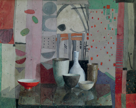Still Life in the Garden Room (watercolor on paper, 16x20) by Annie Williams | watercolor