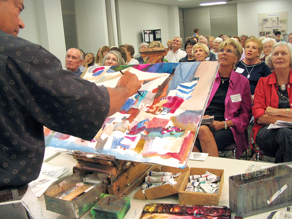 Ratindra Das art classes at the Southwestern Watercolor Society