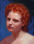 pastel portrait painting, John Philbin Dolan art