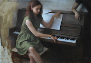 figure painting, oil painting, Nick Alm art
