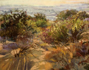 pastel painting, landscape painting, pastel landscape painting, Margaret Larlham art
