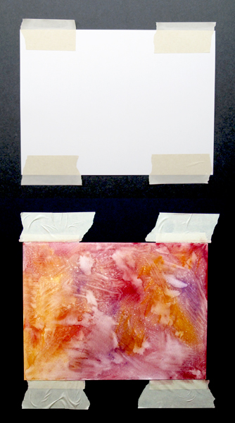 pastel paper surface preparation