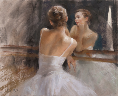 figure of a ballerina | paintings of the human form