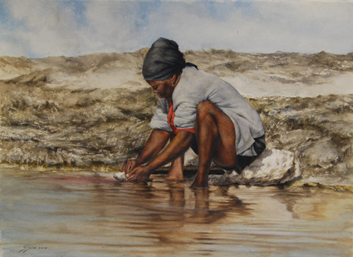 """Catch of the Day"" by Sheldon Saint 