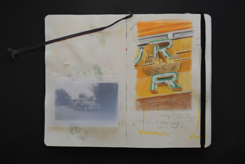 Sketchbook Showing Reminders | Watercolor Sketches