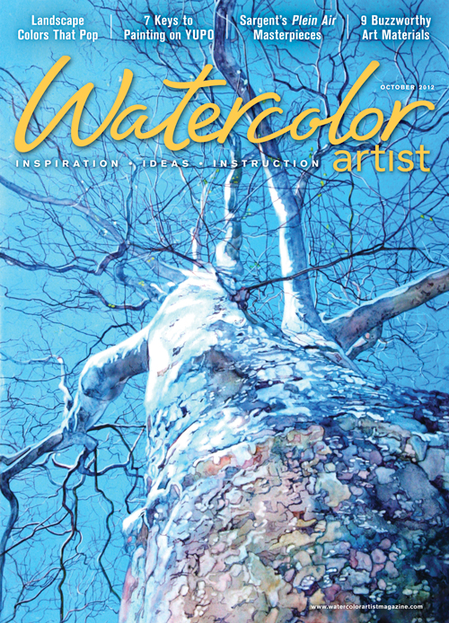 Watercolor Artist, October 2012 | watercolor painting