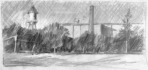 Landscape Pencil Sketching | Sketching, Drawing and Sketching
