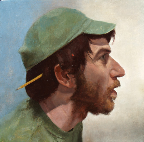 Rob Anderson Portrait Painting Tutorial