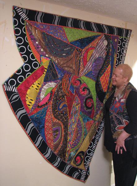 Mixed Media Collage artist Cynthia Lockhart