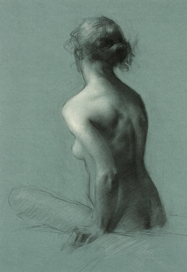 Juliette Aristides, Figure Painting 1