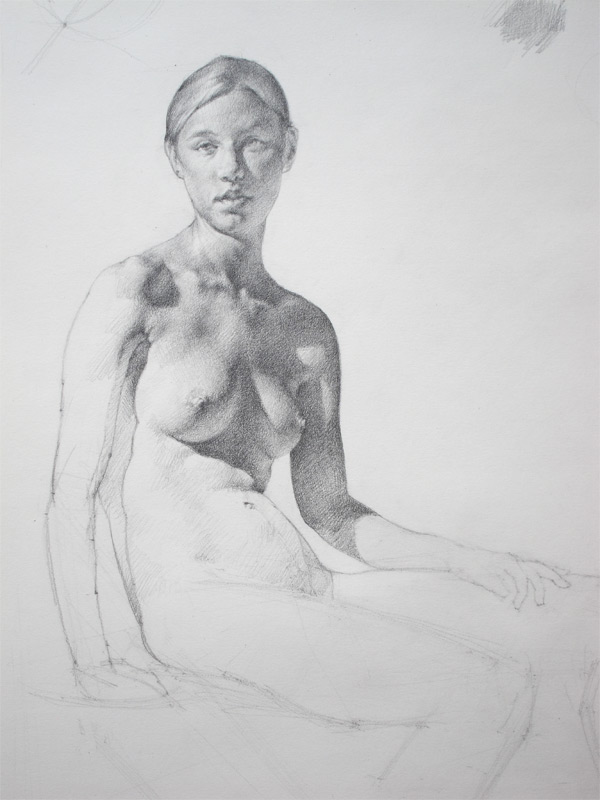 Anthony Ryder, Figure Drawings 1